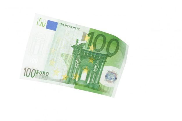 Euro isolé sur blanc Photo Premium