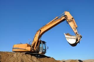Excavation excavatrice Photo gratuit