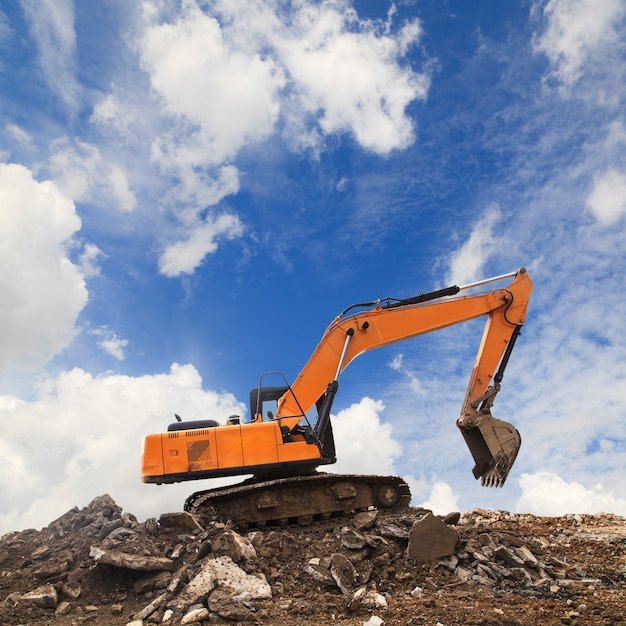 Excavatrice Photo Premium