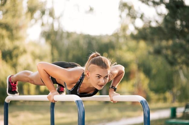 Exercice D'entraînement En Plein Air Photo gratuit