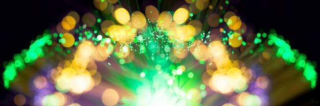 Explosion de fibres abstraites de feux d'artifice Photo gratuit