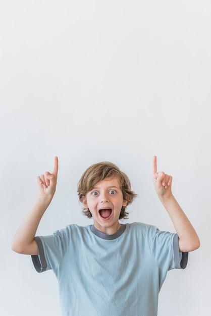 Expressions d'enfants Photo gratuit