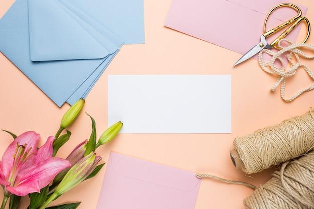 Faire-part, mariage, lis, lis Photo gratuit