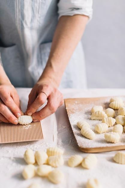 Faire des pâtes Photo gratuit