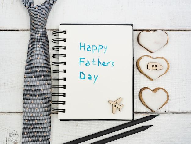Félicitation pour la fête des pères Photo Premium