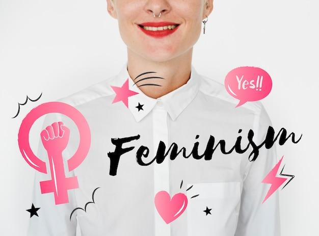 Féminisme égalité confiance femmes droit Photo gratuit
