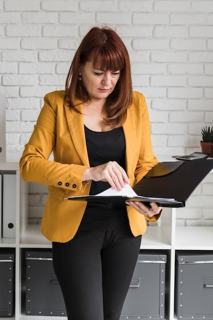 Femme Affaires, Bureau, Fonctionnement Photo gratuit