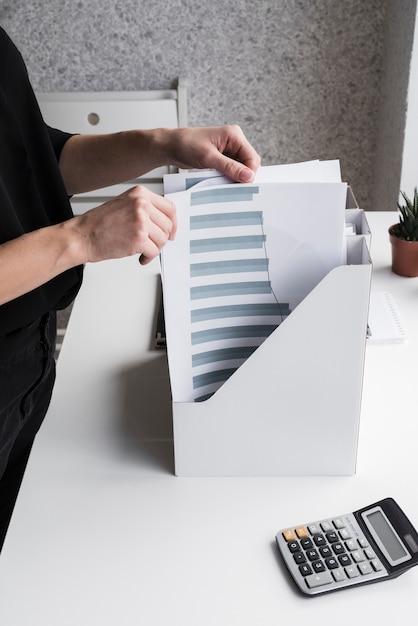 Femme Affaires, Organiser, Bureau, Fichiers Photo gratuit