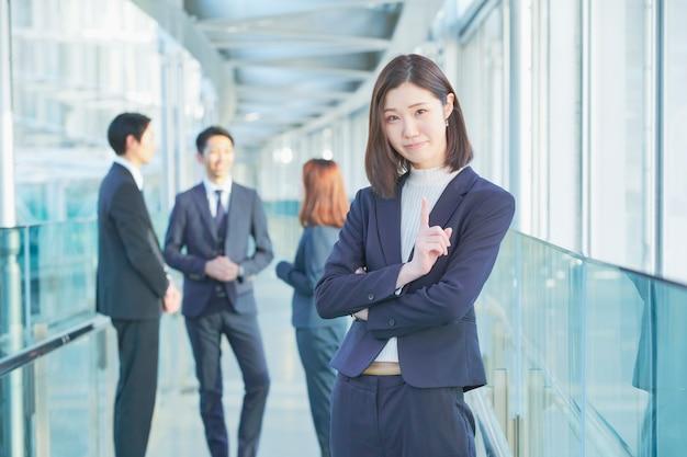 Femme D'affaires Photo Premium