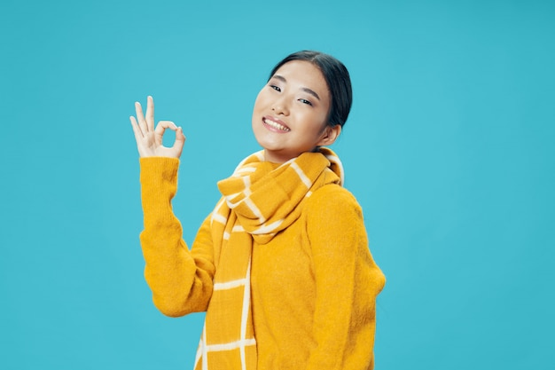 Femme Asiatique, Poser, Modèle Photo Premium