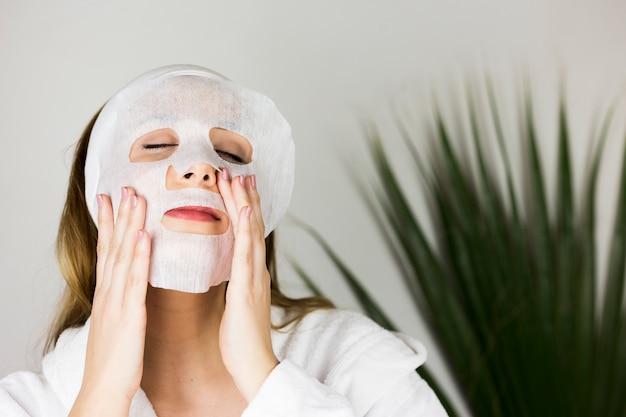 Femme, centre spa Photo gratuit