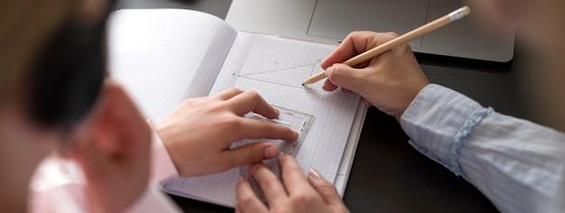 Femme, Fille, Prendre, Notes Photo gratuit