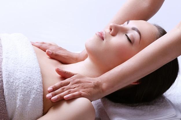 Femme, Réception, Massage, Spa, Centre Photo gratuit
