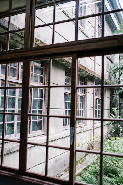 Fenêtre et bâtiment Photo gratuit