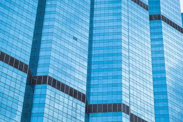 Entrée d un immeuble de bureaux moderne de faible hauteur banque d