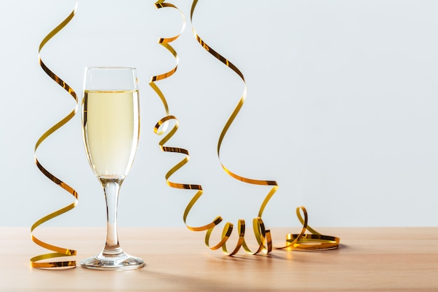Fête Du Nouvel An Avec Champagne Photo Premium