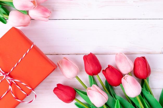 Fête de la femme, fête des mères, concept de la saint-valentin Photo Premium