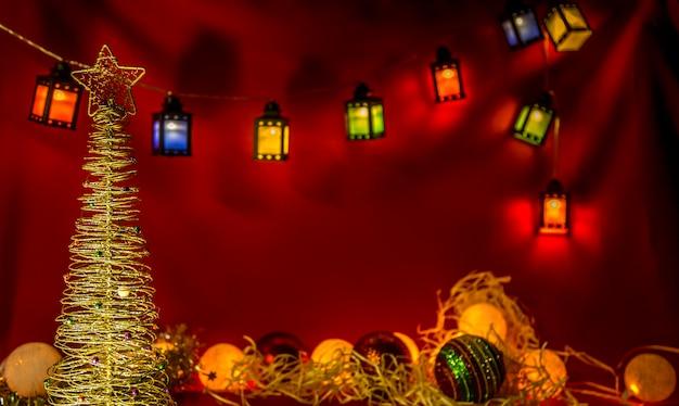 Fête à Thème Natal Décembre Photo Premium
