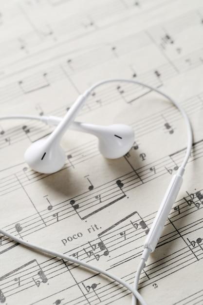 Feuille De Notes De Musique Photo gratuit