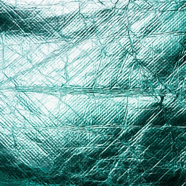 Feuille D'or Froissé Feuille Bleu Brillant Photo gratuit