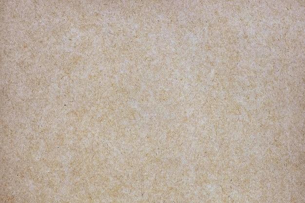 Feuille De Papier Brun Ou Texture De Carton Photo Premium
