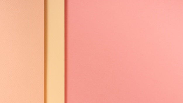 Feuilles de papier tonique rose avec espace de copie Photo gratuit