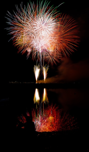 Feux d'artifice Photo Premium