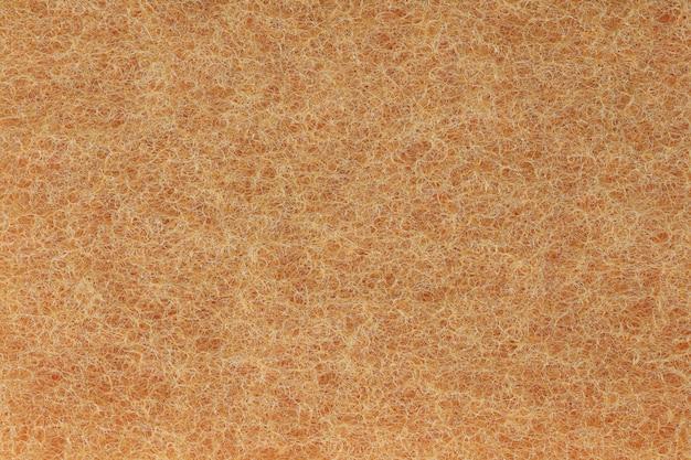 Fibres plastiques orange fond de texture. Photo Premium