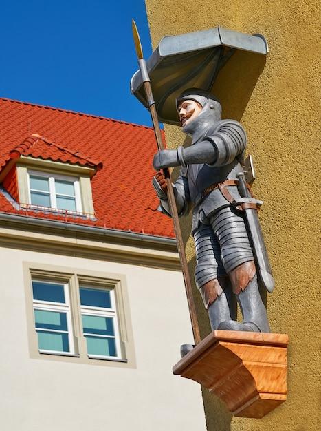 Figure géante de riese à nordhausen harz en allemagne Photo Premium