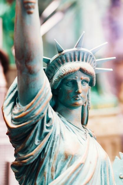 Figure de la statue de la liberté Photo gratuit
