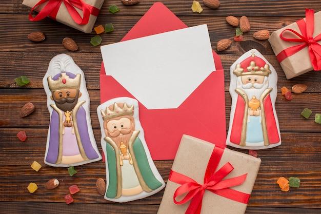Figurines Comestibles En Biscuit Royalty Photo gratuit