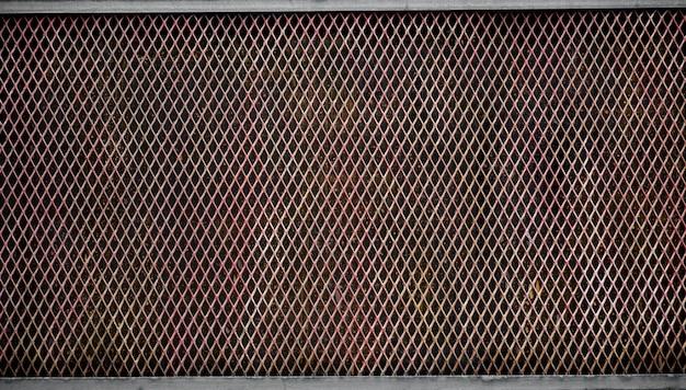 Fil métallique de cage rouillé Photo Premium
