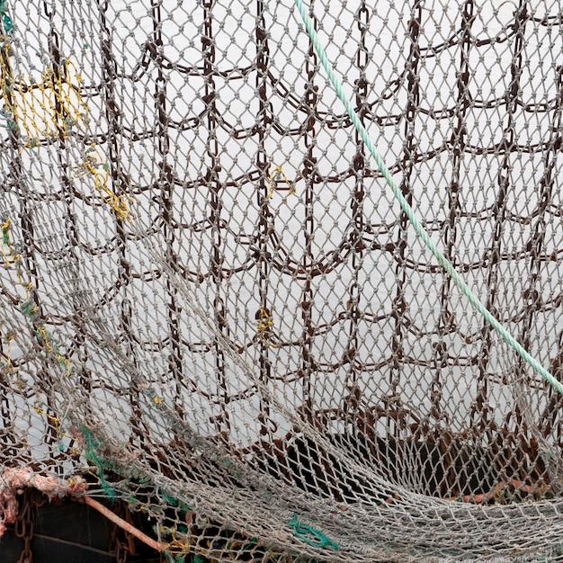 Filet de pêche Photo Premium