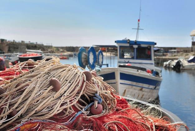 Filets de pêche Photo Premium