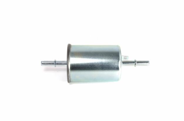 Filtre à carburant métallique cylindrique Photo Premium