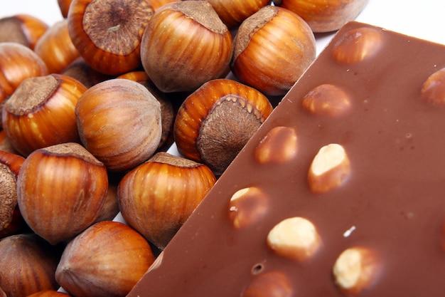 Fin, Haut, Savoureux, Chocolat, Noisettes Photo gratuit