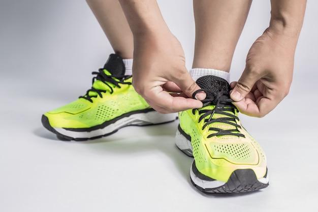 Fitness adultes laçage étroit shaker Photo gratuit