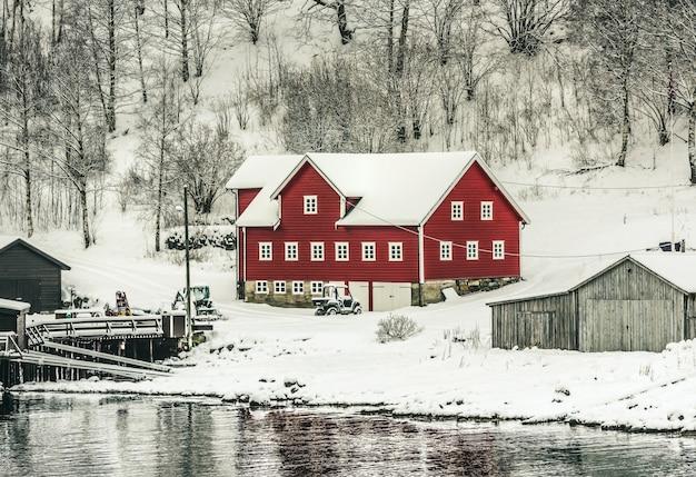 Fjords norvégiens Photo Premium
