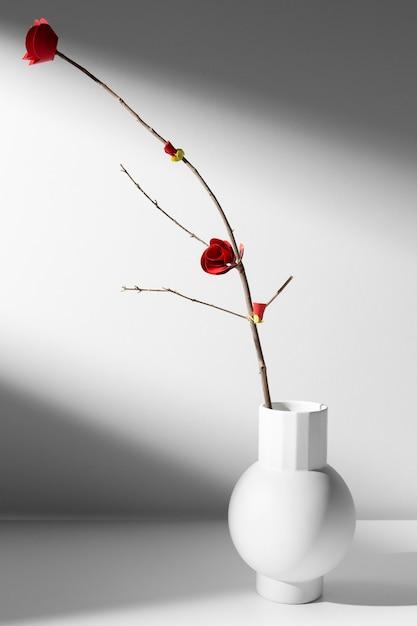 Fleur De Maison Minimaliste Du Nouvel An Chinois 2021 Photo gratuit