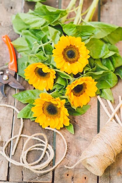 Fleurs à vendre Photo Premium