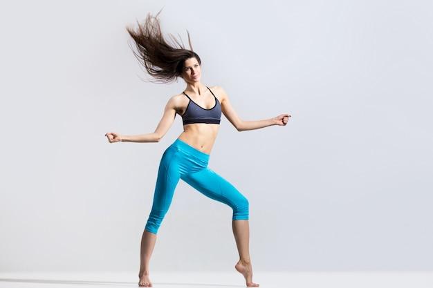 Flexible danse sportive Photo gratuit