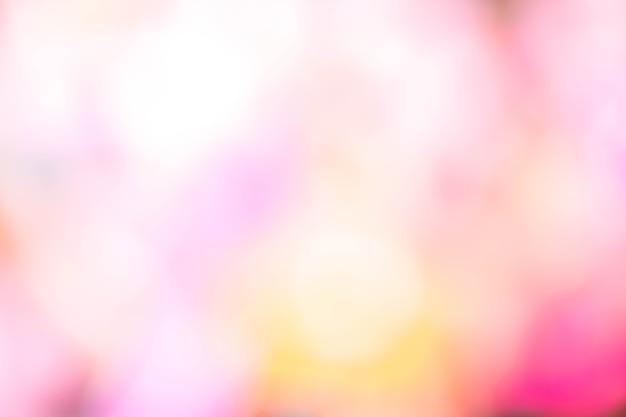 Flou Abstrait Léger Dégradé Rose Doux Pastel Couleur Fond D'écran. | Photo Premium