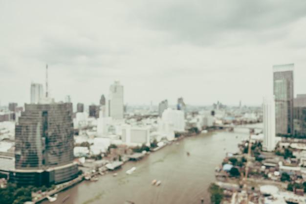Flou bangkok ville Photo gratuit
