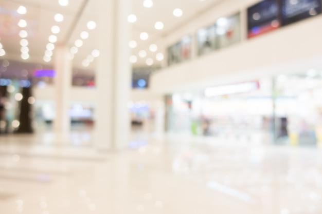 Flou centre commercial Photo gratuit
