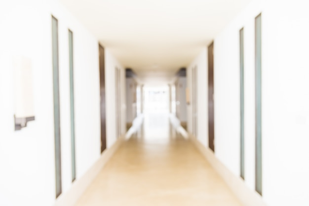 Flou fond de complexe hôtelier Photo gratuit