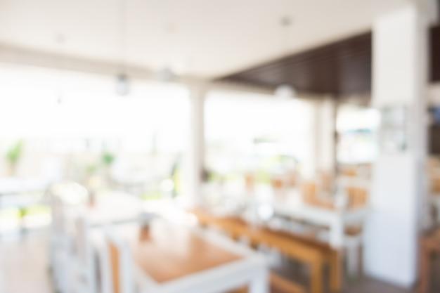 Flou Intérieur Du Restaurant Photo gratuit