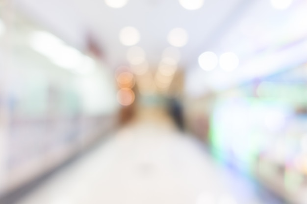 Flou intérieur de l'hôpital et de la clinique Photo gratuit