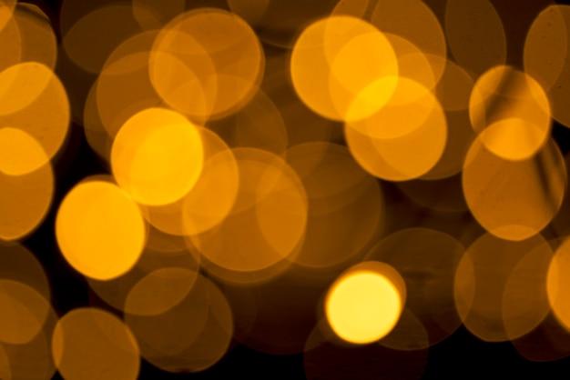 Flou Scintillant Spots Sur Fond Abstrait Photo Premium