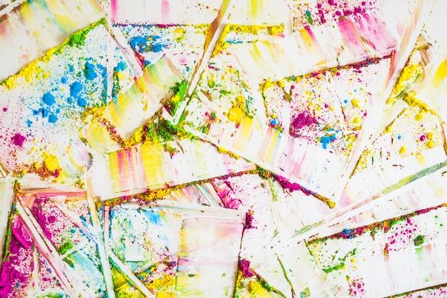Flous de différentes couleurs vives et sèches Photo gratuit