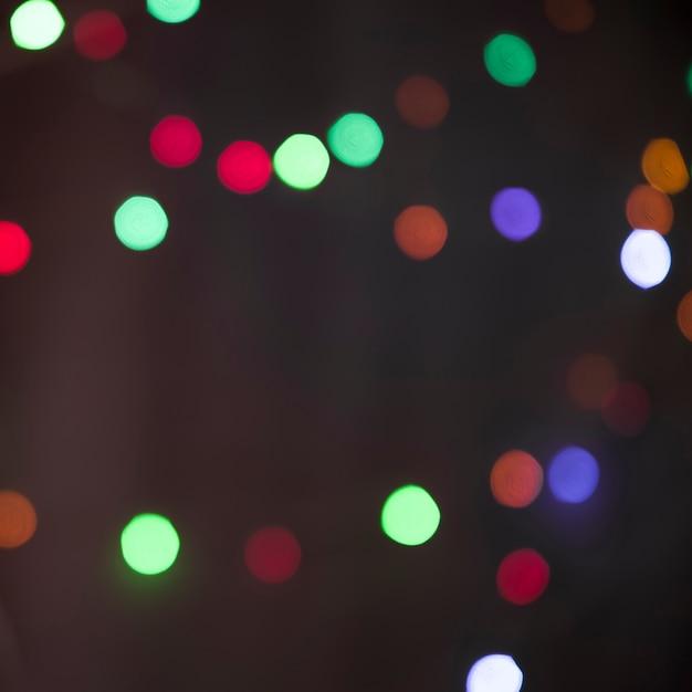 Flous de nombreuses lumières colorées Photo gratuit